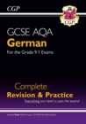GCSE German AQA Complete Revision & Practice (with CD & Online Edition) - Grade 9-1 Course - Book