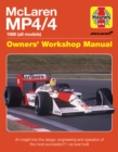 Mclaren Mp4/4 Owners' Workshop Manual : An insight into the design, engineering, maintenan