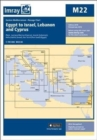 Imray Chart M22 : Egypt to Israel, Lebanon and Cyprus