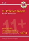 New 11+ GL Practice Papers Mixed Pack - Ages 10-11 (with Parents' Guide & Online Edition) - Book