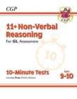 New 11+ GL 10-Minute Tests: Non-Verbal Reasoning - Ages 9-10 (with Online Edition) - Book