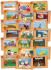 Jolly Phonics Orange Level Readers Complete Set : in Precursive Letters (British English edition) - Book