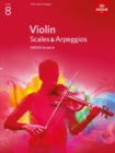 Violin Scales & Arpeggios, ABRSM Grade 8 : from 2012