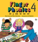 Finger Phonics book 4 : in Precursive Letters (British English edition) - Book