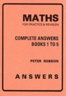 Maths for Practice and Revision : Complete Answers - Book