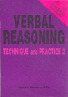 Verbal Reasoning : Technique and Practice No. 2