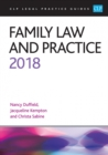 Family Law and Practice 2018
