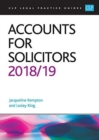 Accounts for Solicitors 2018/2019