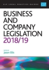 Business and Company Legislation 2018/2019