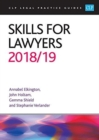 Skills for Lawyers 2018/2019