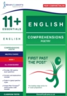 11+ Essentials English Comprehensions: Poetry Book 1 - Book