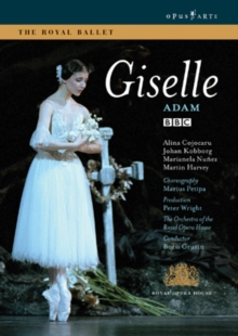 Giselle: Royal Opera House (Gruzin), DVD DVD