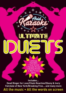 Ultimate Karaoke Duets, DVD DVD