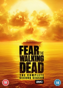 Fear the Walking Dead: The Complete Second Season, DVD DVD