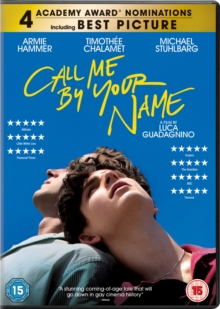 Call Me By Your Name, DVD DVD