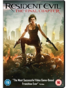 Resident Evil: The Final Chapter, DVD DVD