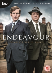 Endeavour: Complete Series Three, DVD DVD