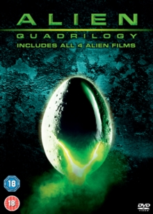Alien Quadrilogy, DVD  DVD