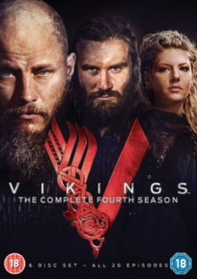 Vikings: The Complete Fourth Season, DVD DVD