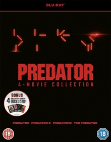 Predator Quadrilogy, Blu-ray BluRay