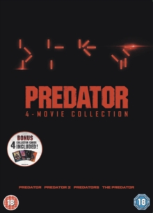 Predator Quadrilogy, DVD DVD
