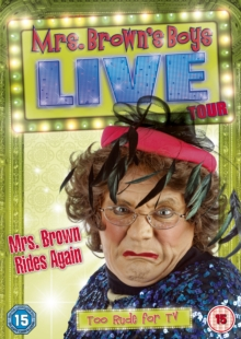 Mrs Brown Rides Again - Live Tour, DVD  DVD