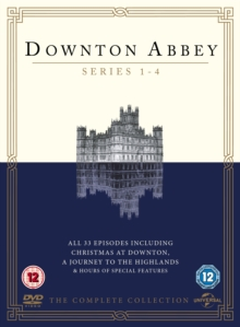 Downton Abbey: Series 1-4, DVD  DVD