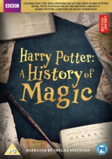Harry Potter: A History of Magic, DVD DVD