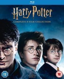 Harry Potter: The Complete 8-film Collection, Blu-ray BluRay