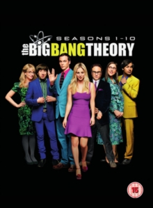 The Big Bang Theory: Seasons 1-10, DVD DVD