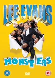 Lee Evans: Monsters, DVD  DVD