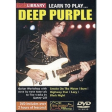 Lick Library: Learn to Play Deep Purple, DVD  DVD