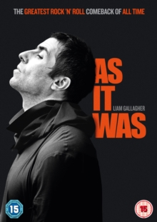 Liam Gallagher: As It Was, DVD DVD