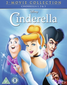 Cinderella (Disney)/Cinderella 2 - Dreams Come True/Cinderella..., Blu-ray BluRay
