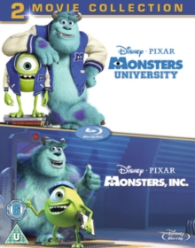 Monsters, Inc./Monsters University, Blu-ray BluRay