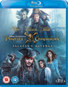 Pirates of the Caribbean: Salazar's Revenge, Blu-ray BluRay