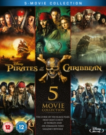Pirates of the Caribbean: 5-movie Collection, Blu-ray BluRay