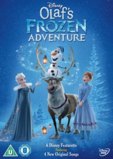 Olaf's Frozen Adventure, DVD DVD