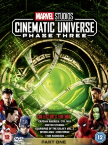 Marvel Studios Cinematic Universe: Phase Three - Part One, DVD DVD