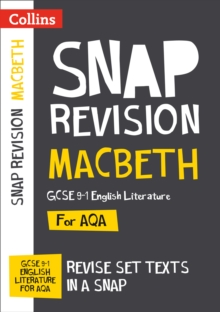 Macbeth: New Grade 9-1 GCSE English Literature AQA Text Guide, Paperback / softback Book