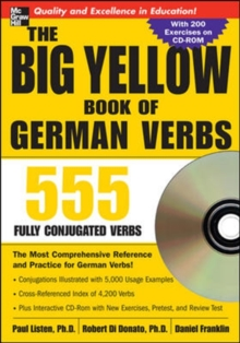 The Big Yellow Book of German Verbs (Book w/CD-ROM), Book Book