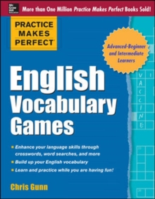 Practice Makes Perfect English Vocabulary Games, Paperback / softback Book