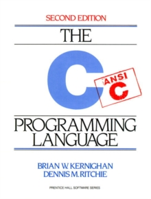 C Programming Language, Paperback Book