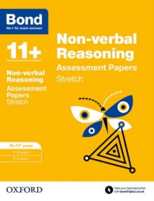 Bond 11+: Non-verbal Reasoning: Stretch Papers : 10-11+ years, Paperback / softback Book