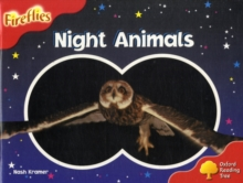 Oxford Reading Tree: Level 4: Fireflies: Night Animals, Paperback Book