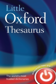 Little Oxford Thesaurus, Hardback Book