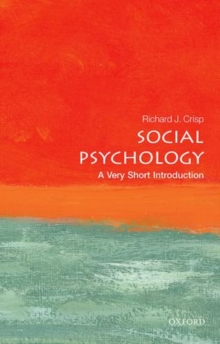 Social Psychology: A Very Short Introduction, Paperback / softback Book