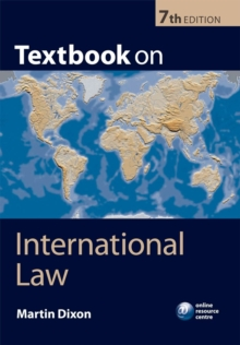 Textbook on International Law, Paperback / softback Book