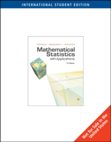 Mathematical Statistics with Applications, International Edition, Paperback Book