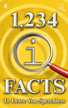 1,234 QI Facts to Leave You Speechless, Hardback Book